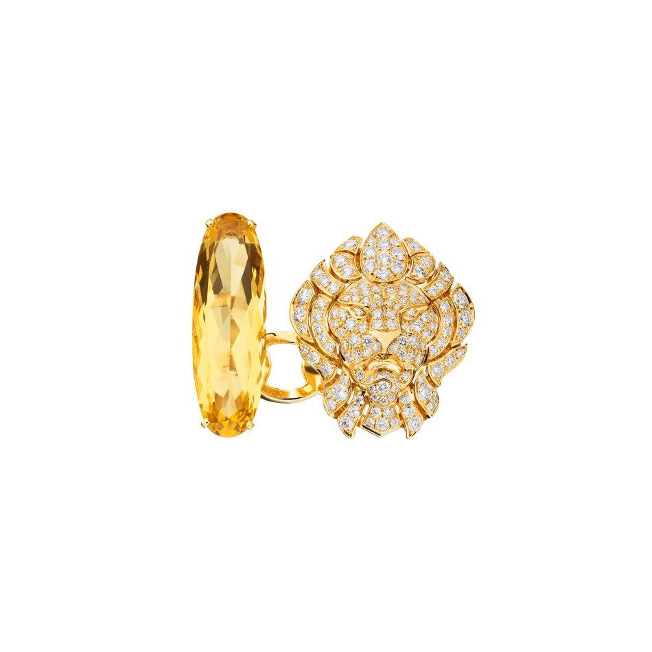 Chanel L'Esprit du Lion Bague Dazzling