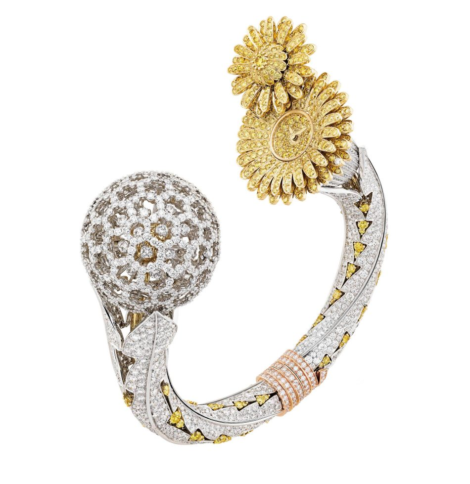 SIHH2018 Le Jardin Van Cleef & Arpels Dandelion Secret Watch