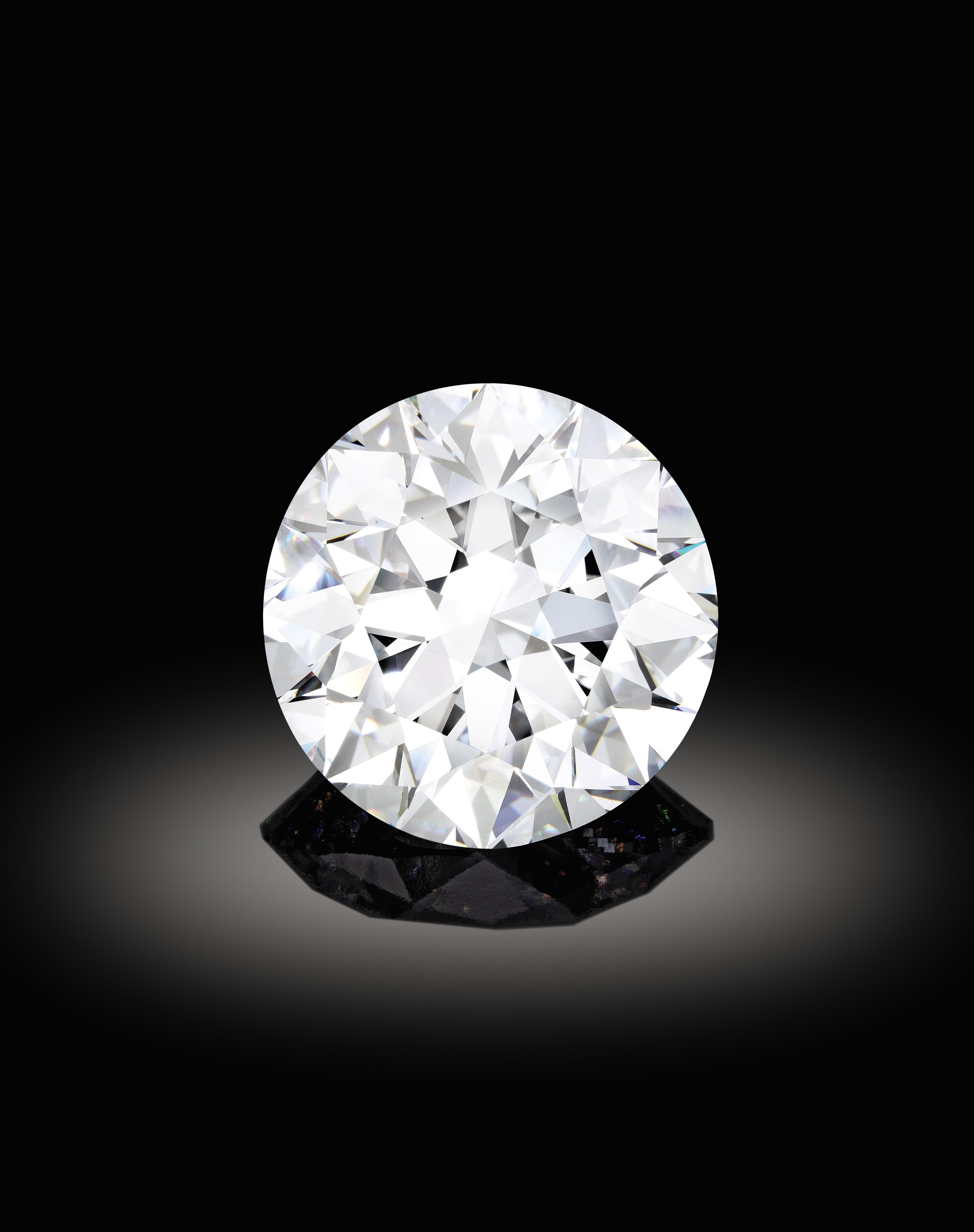 Sotheby S Diamonds 102 34 Carat D Colour Flawless Type