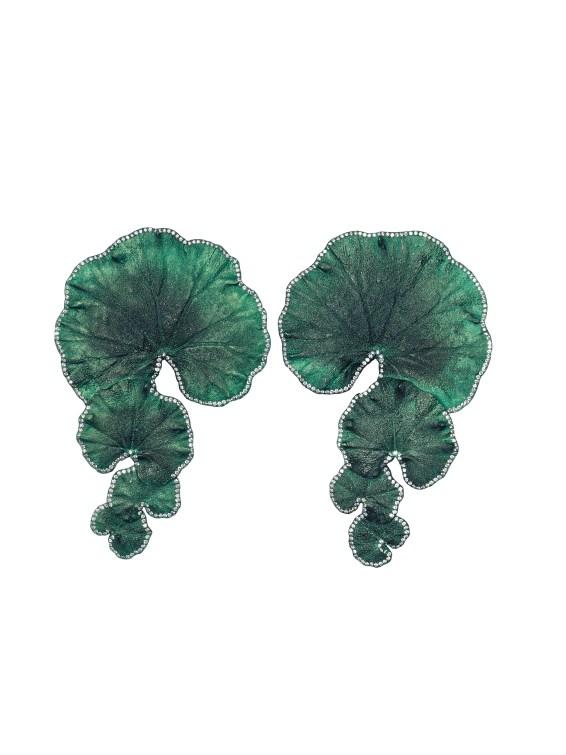 Emmanuel Tarpin - Geranium Earrings