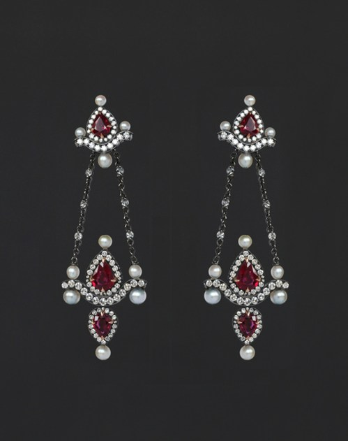 Nadia Morgenthaler - Natural Pearls & Diamonds Rubies