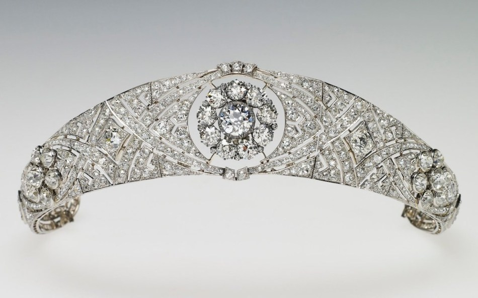 Queen Mary Bandeau Tiara, 1932.