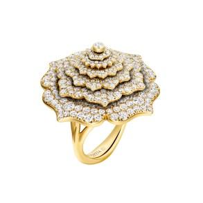 GemGenève - Caspita Tourbillon Ring mat Diamanten