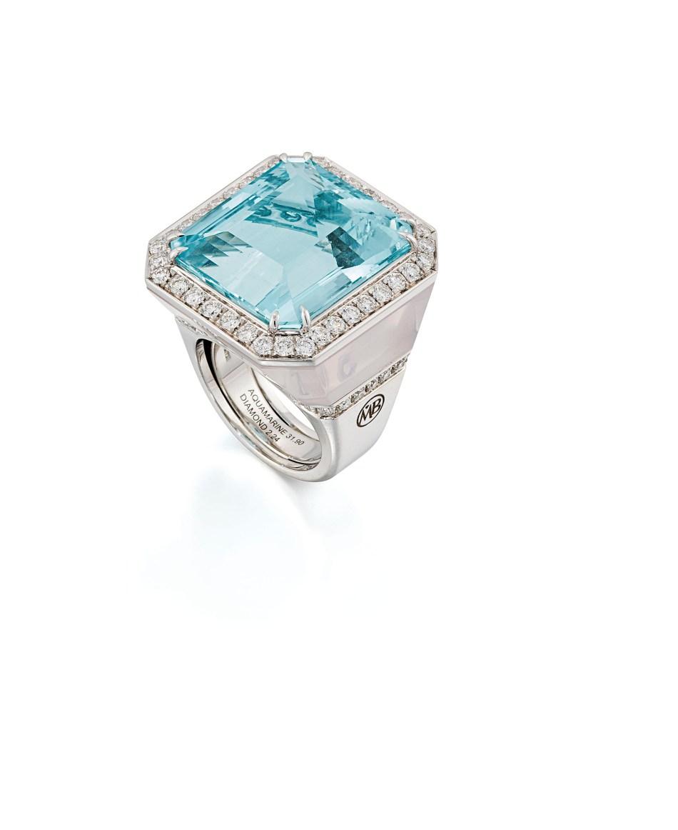 Lot 133 (aquamarine_rose_quartz_and_diamond_dress_ring_margherita_burgener)