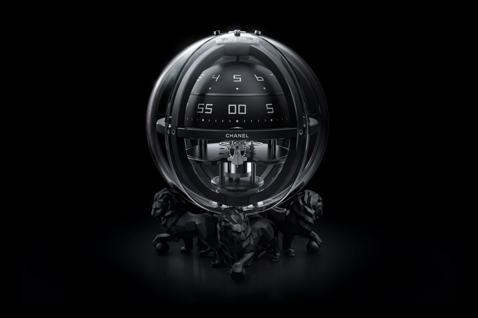 Orologi Chanel. Monsieur Chronosphère Clock.