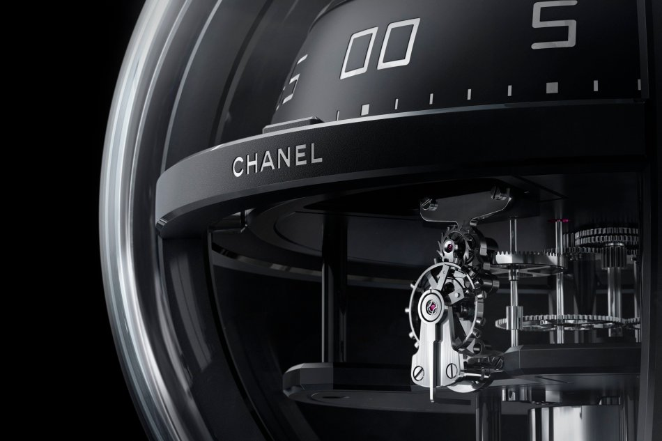 Chanel Monsieur de Chanel Chronosphère Clock