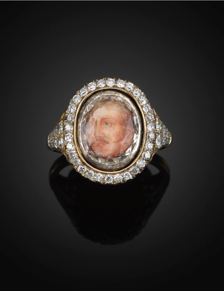 Portret imperial inel cu diamante al împăratului Nicolae I