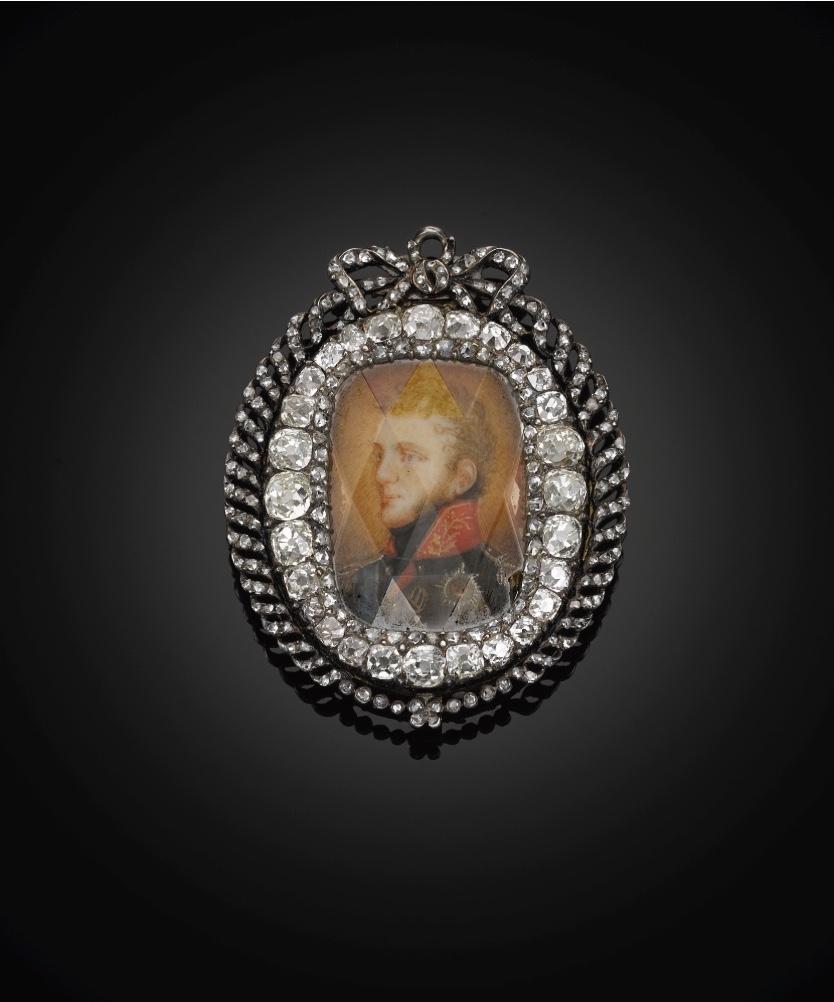 Imperial portrait of Emperor Alexander I