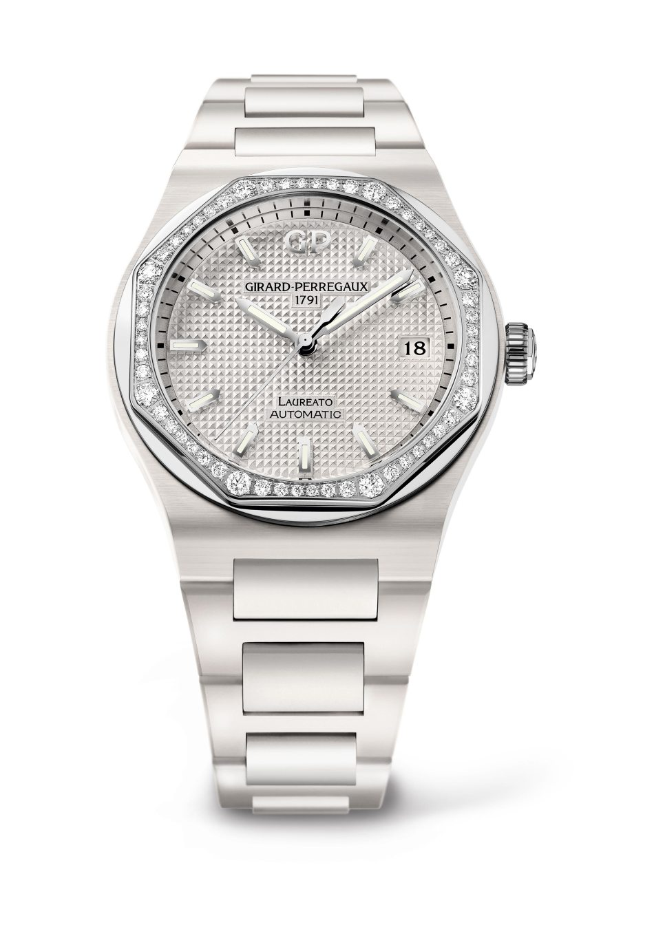 Girard-Perregaux Laureato 38mm White Ceramic