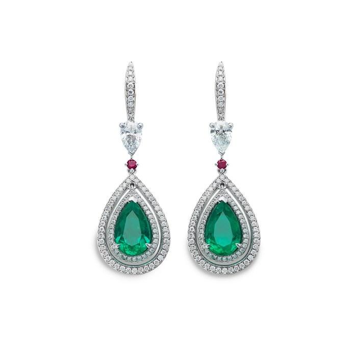 Gübelin Jewellery - Glowing Ember collection.
