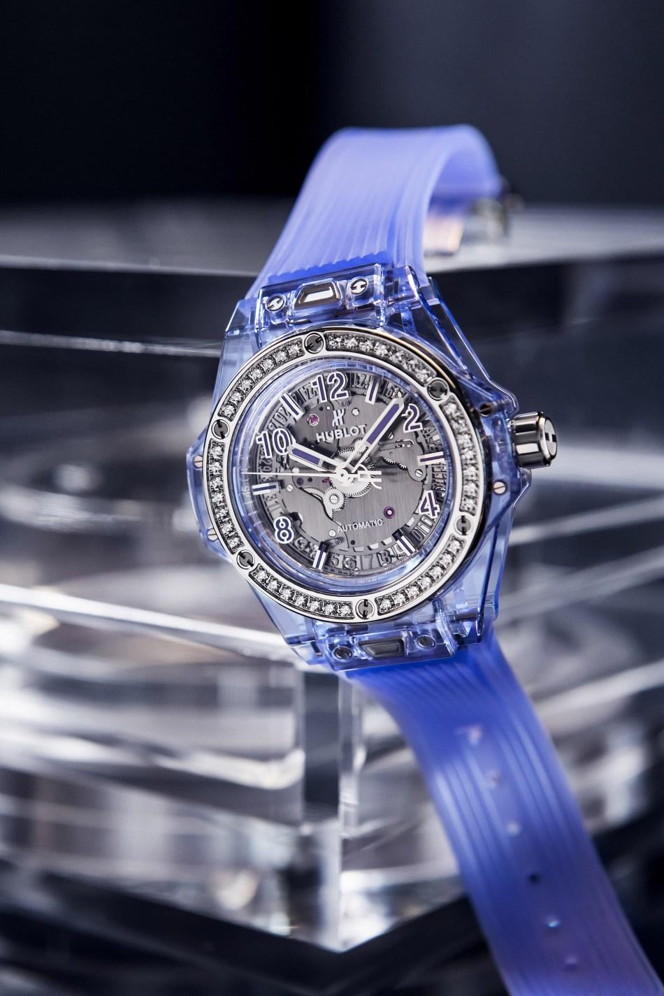 Big Bang One Click Blue Sapphire
