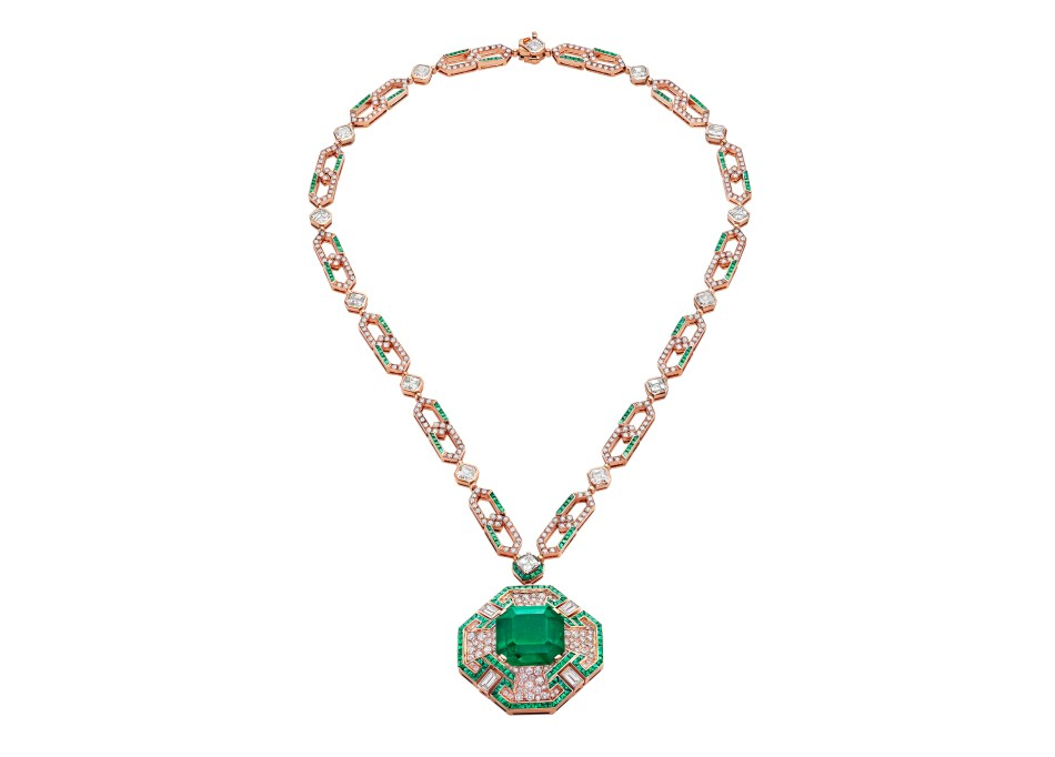 Sautoir inspired by Liz Taylor, Bulgari Cinemagia collection