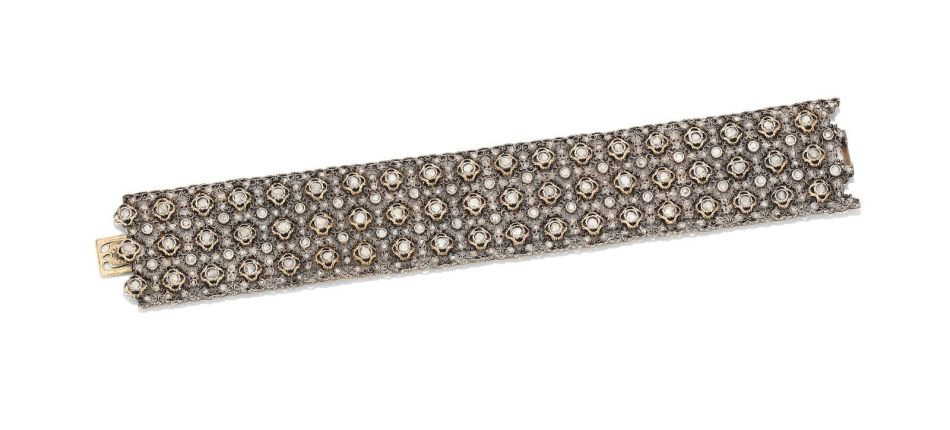 A diamond bracelet, by Mario Buccellati