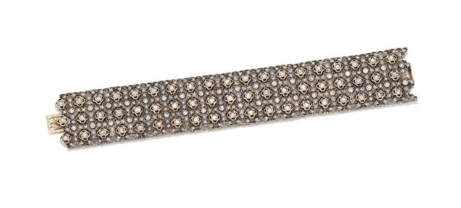 マリオ・ブチェラティのダイヤモンドブレスレット