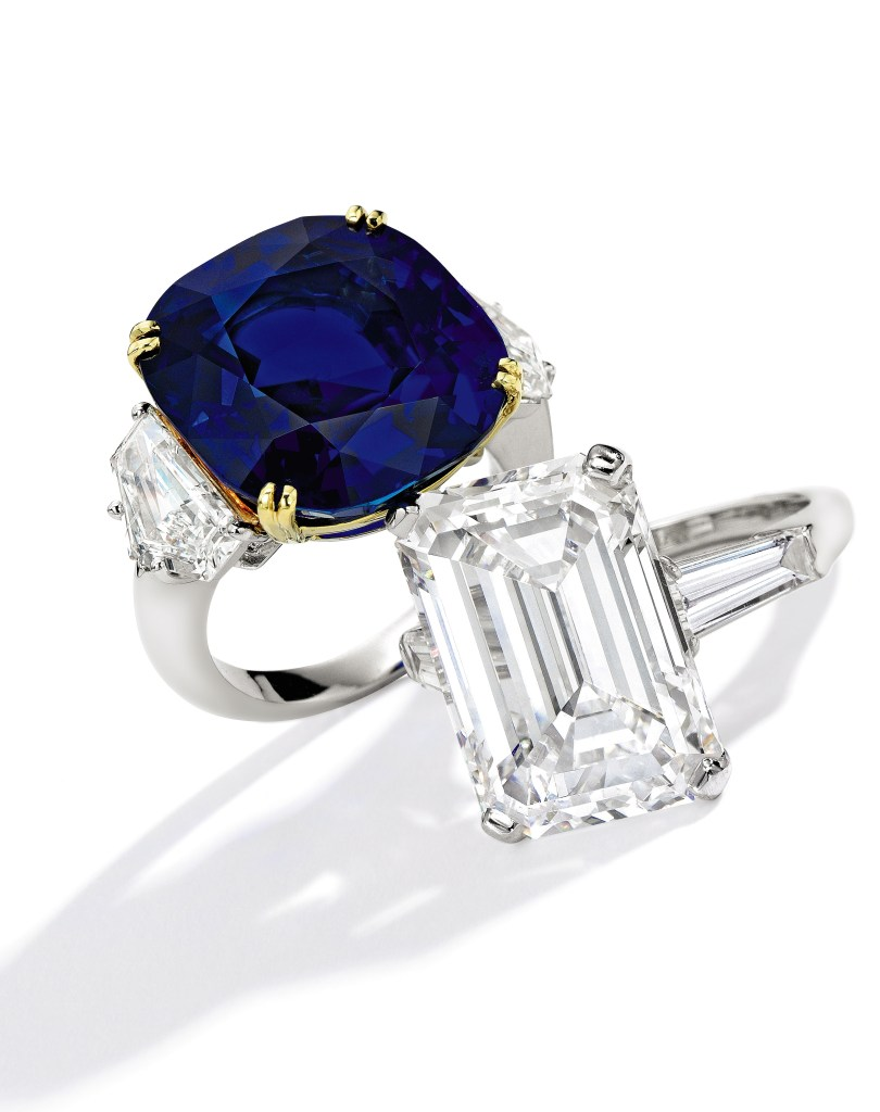 Sapphire and diamond ring, Cartier and Diamond Ring, Cartier
