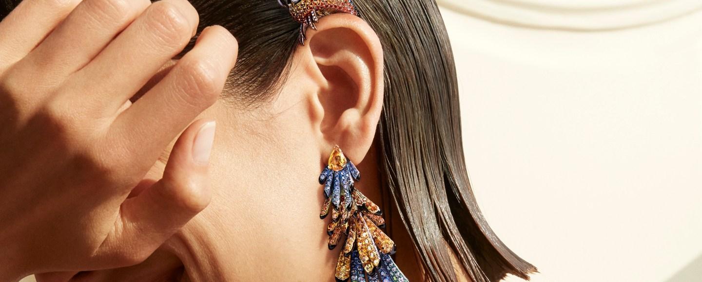 Boucheron Paris vu du 26 Nuri earrings