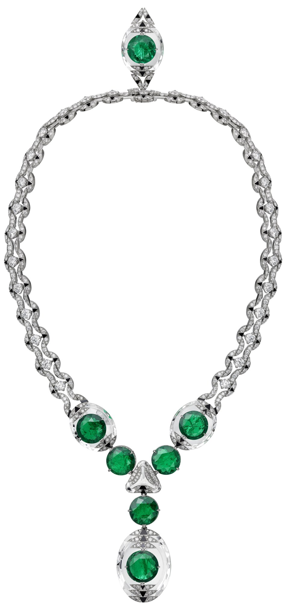 Cartier Magnitude High Jewellery-collectie. Théia ketting