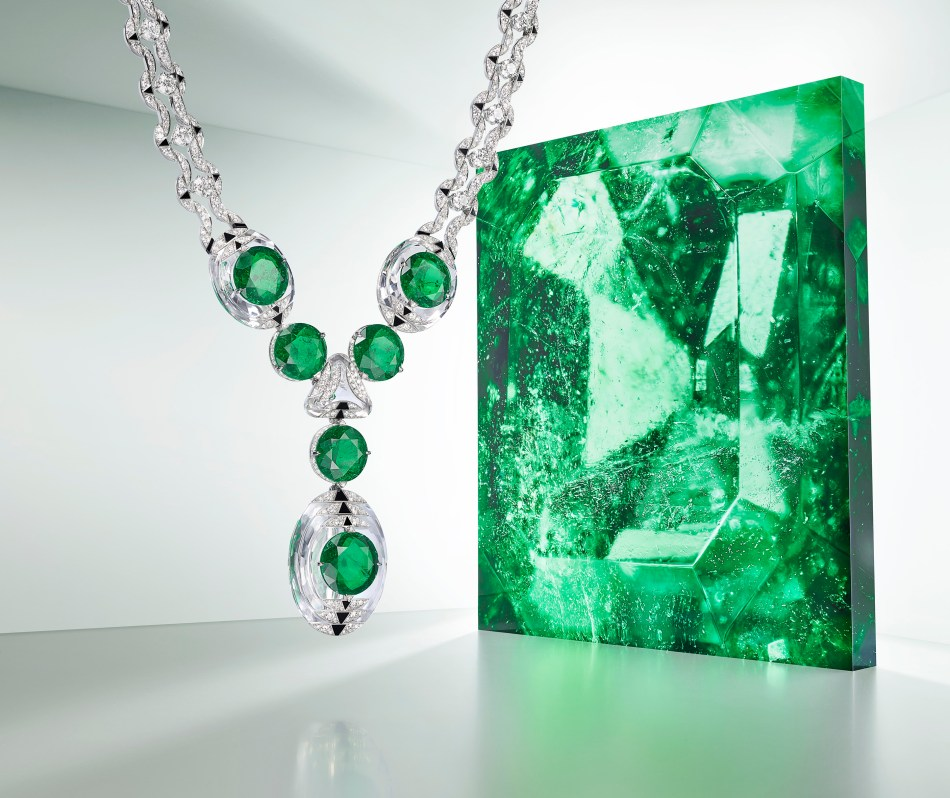 Cartier Magnitude High Jewellery Collection Théia Necklace