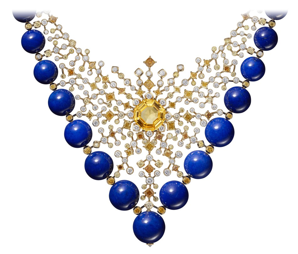 Cartier Magnitude High Jewellery Collection Equinoxe halskæde