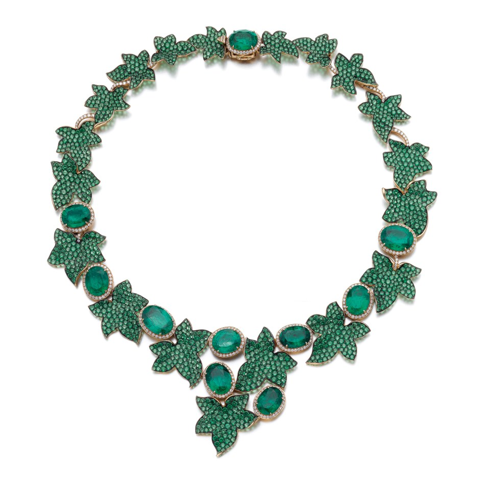 Michele della Valle Ivy Necklace.