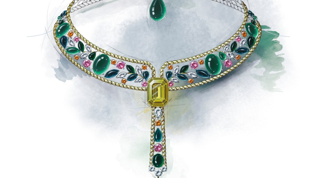 Le Paris Russe de Chanel, Blé Maria Necklace