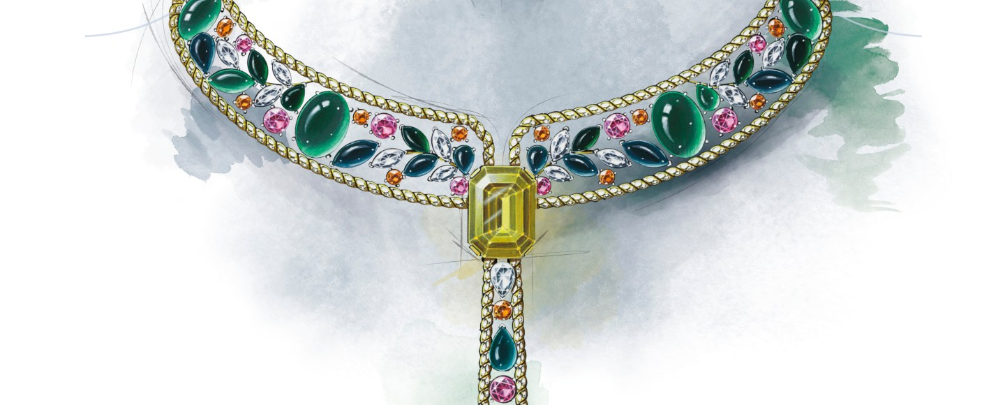 Le Paris Russe de Chanel, Collier Blé Maria