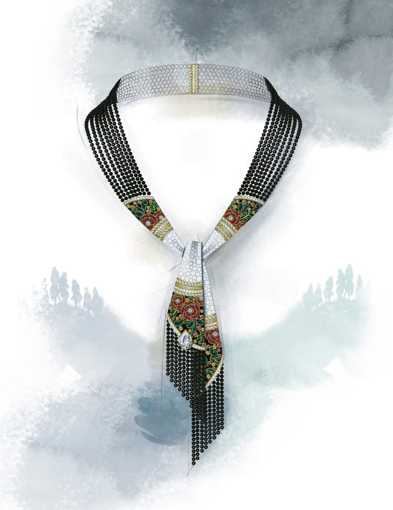 Le Paris Russe de Chanel, Foulard Necklace