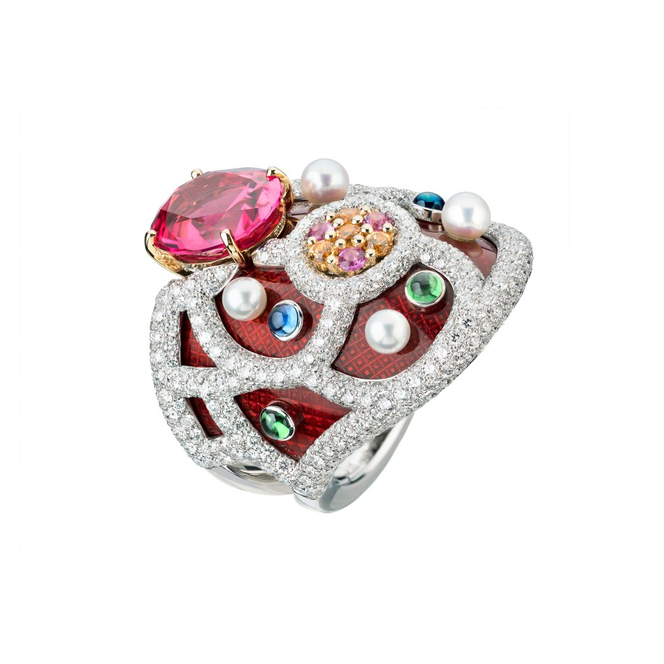 Le Paris Russe de Chanel, bague folklorique