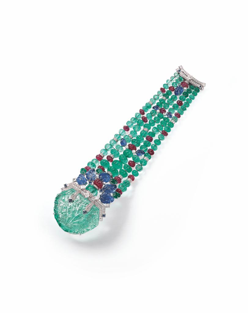 A 'Tutti Frutti' Bracelet, Cartier Estimate: HK$1,950,000 – 2,800,000