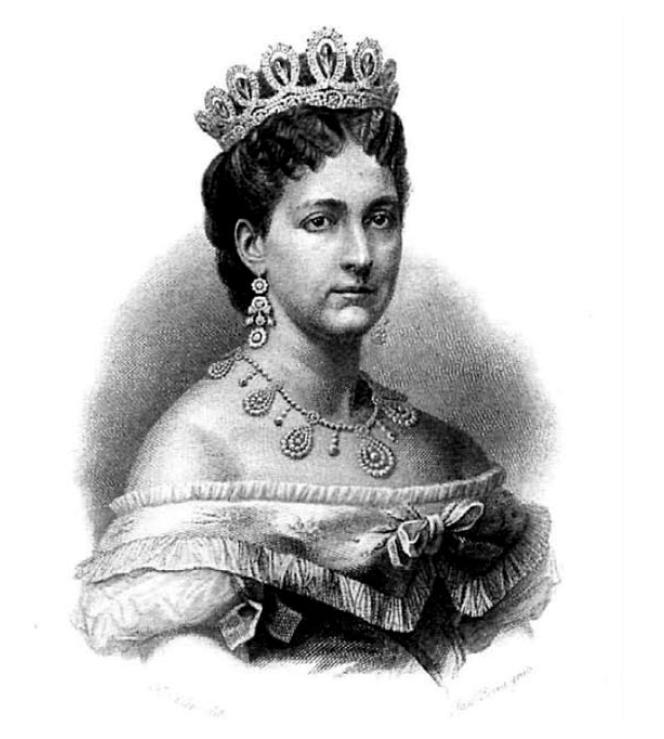 Maria Vittoria dal Pozzo, Princess della Cisterna