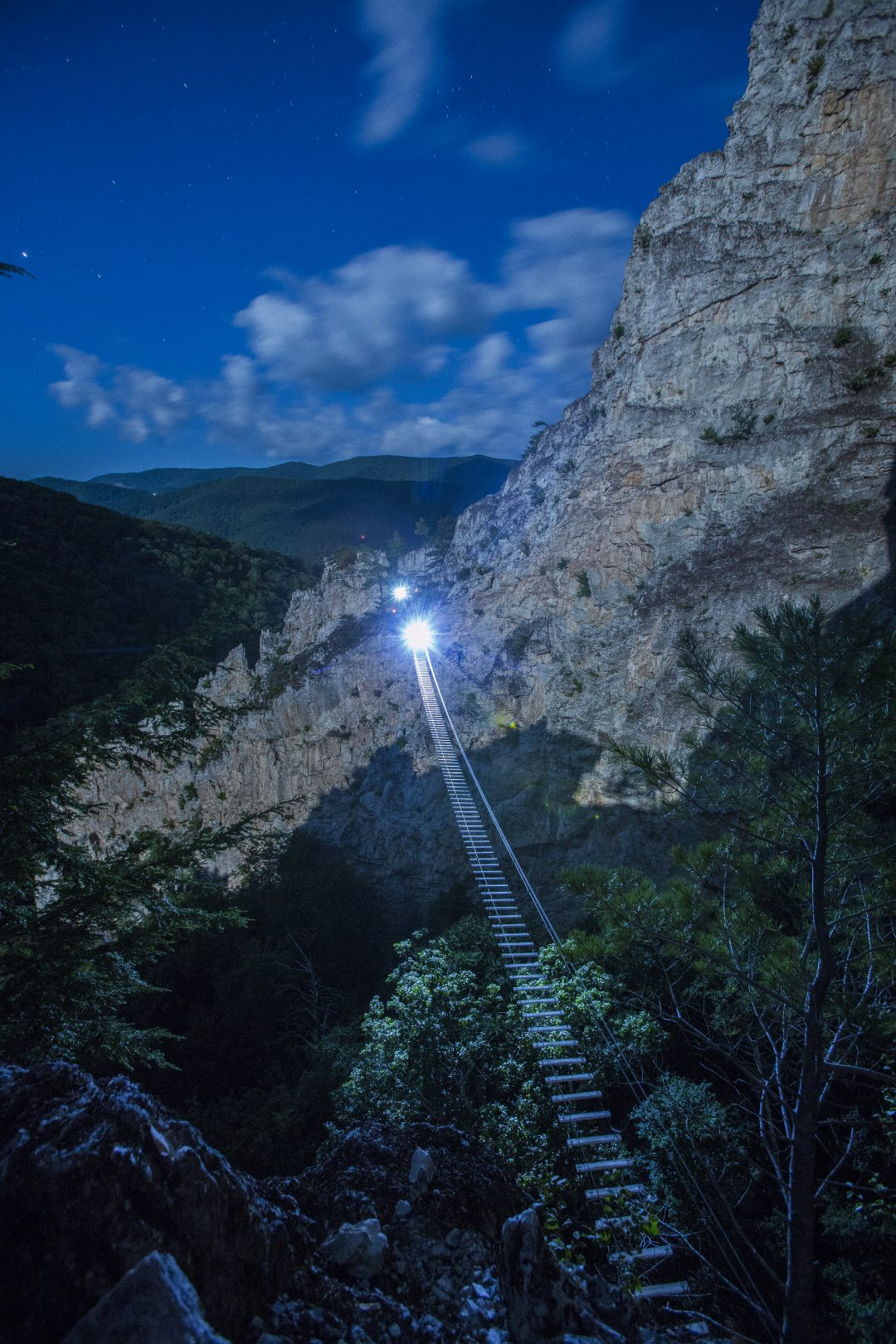 NROCKS Moonlight Via Ferrata