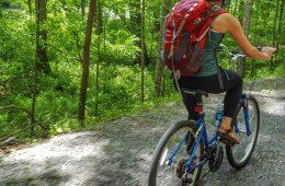 Biking Deckers Creek Trail