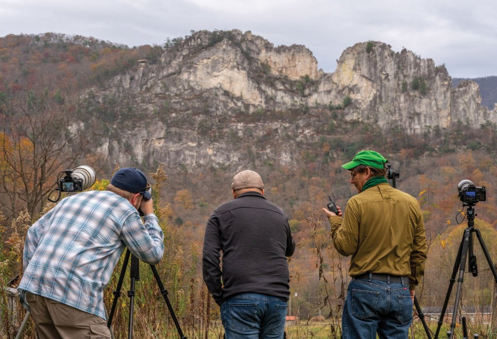 Seneca Rocks Highline: Photography Team