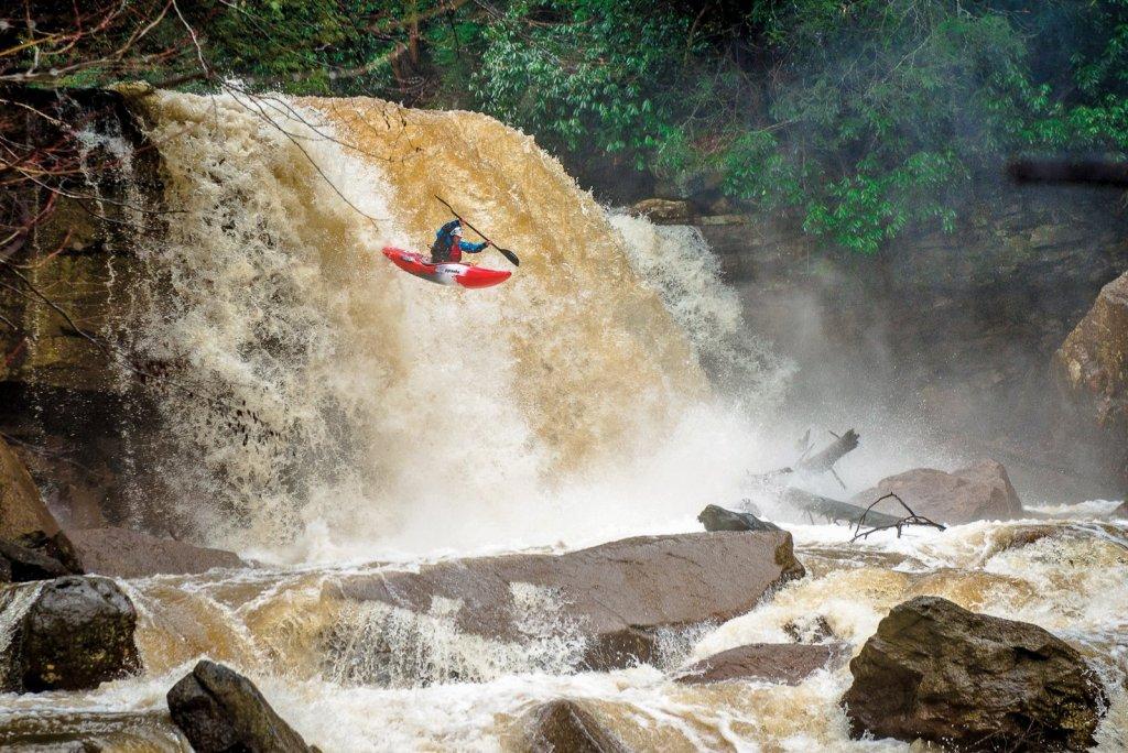 Kayaking Douglas Falls