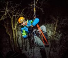 Gabe DeWitt Ice Climbing