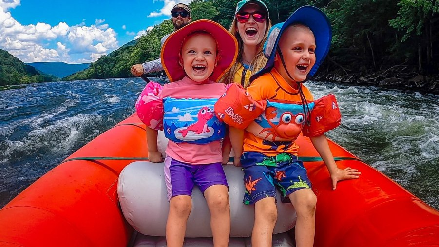 Molly Wolff: Upper New River Family Raft Trip