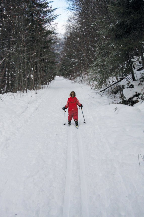 Get Out: Kids XC skiing
