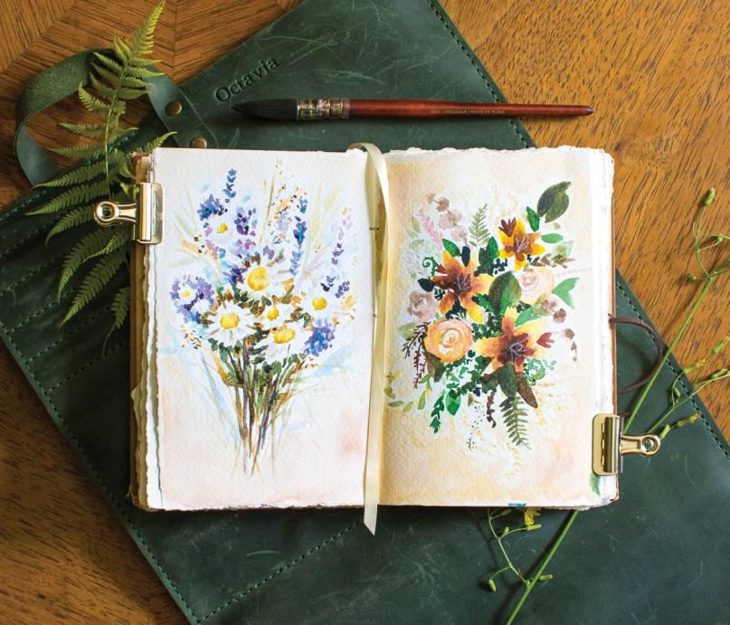 WV Art - Spriggs Bouquets