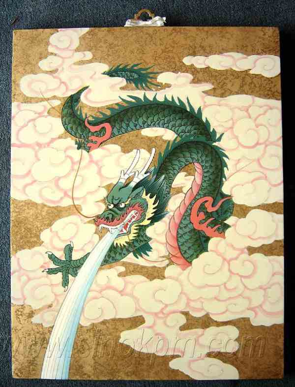 Ancient Chinese Dragon Art