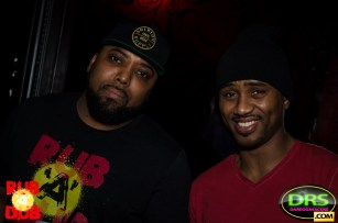Photo of Highlanda Sound co-founders AGARD and SuperPEC