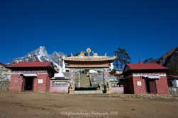 Tengboche monastery.
