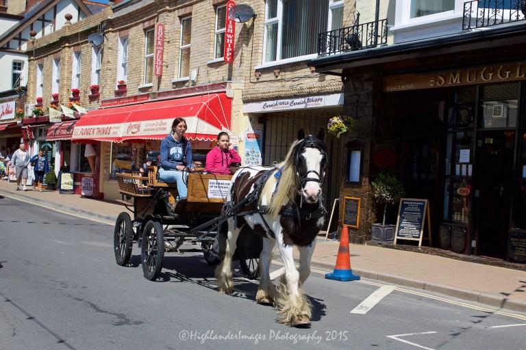 Ilfracombe, Devon, UK.