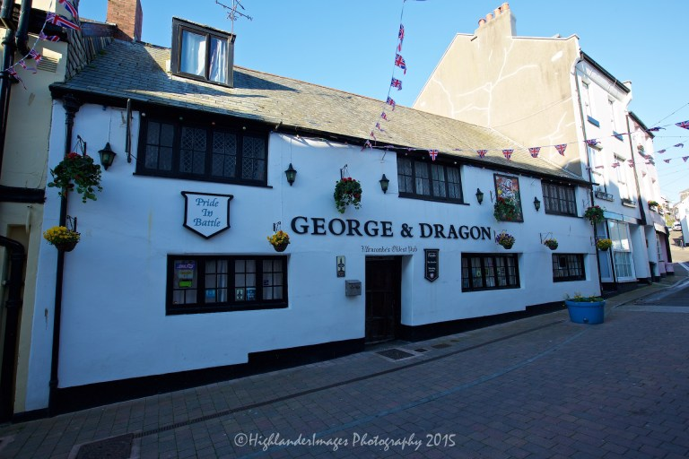 George & Dragon pub, Ilfracombe, Devon, UK.