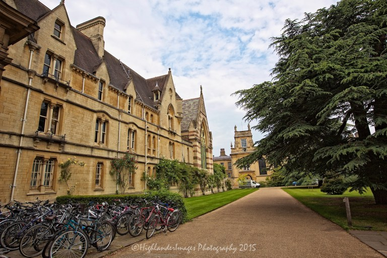 Trinity College, Oxford University, Oxford, UK.