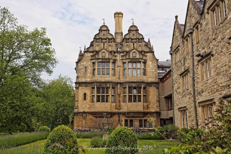 Trinity College, Oxford University, Oxford, UK.