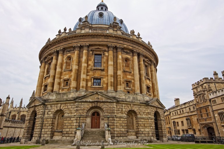 Radcliffe Camera, Oxford University, Oxford, UK.