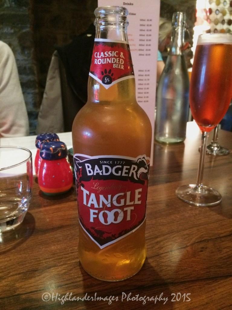 Local beer, Ilfracombe, Devon, UK.