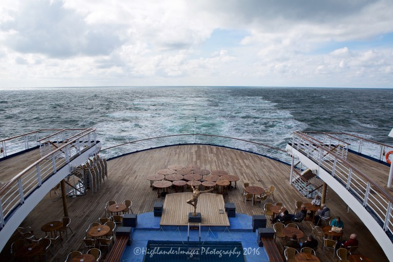 Marco Polo cruise ship sailing from Tilbury Docks, London to Norway