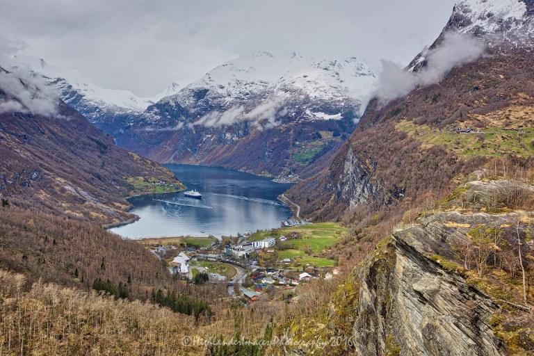 Flydalsjuvet Gorge, Geiranger, Norway