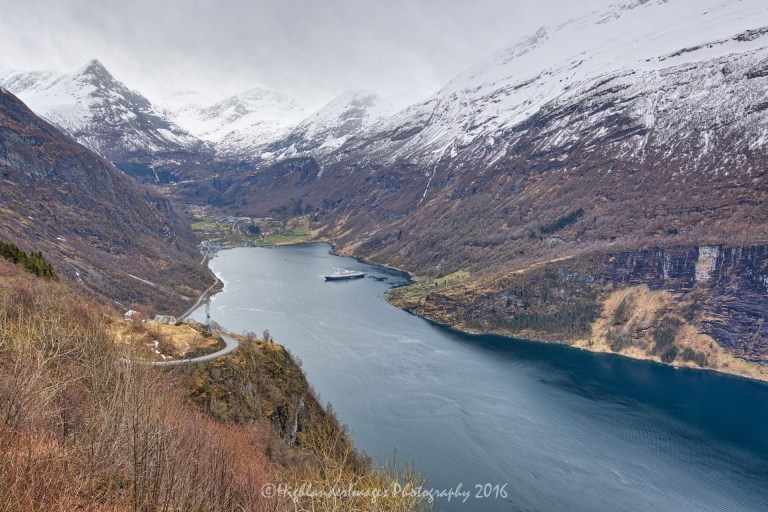 Eagles Road, Geiranger, Norway